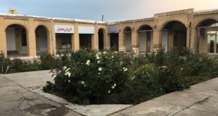 سرای گلشن واقع در بازار بزرگ زنجان