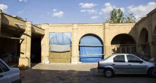 کاروانسرای شعبان (شابان) در بازار زنجان