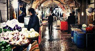 سرای حاج نقی در بازار بزرگ زنجان