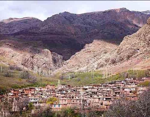 طبیعت زیبای روستای اکوجان