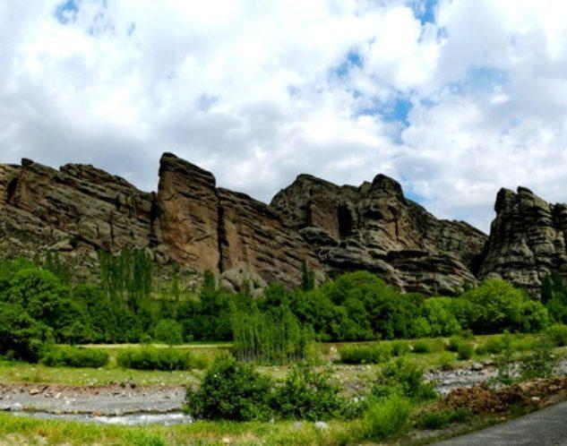 مناظر اطراف روستای اندج قزوین