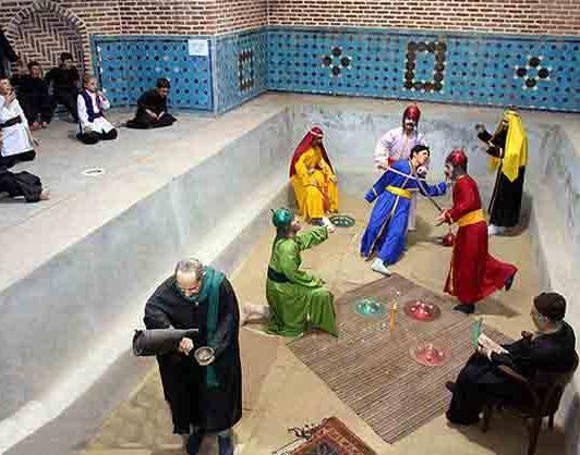 حمام قجر کجاست؟ این حمام در شهر قزوین می باشد