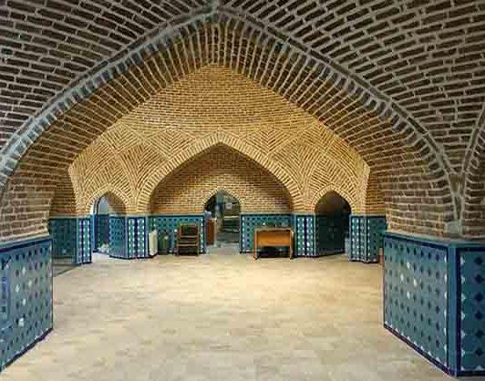 حمام قجر یکی از حمام های قدیمی قزوین