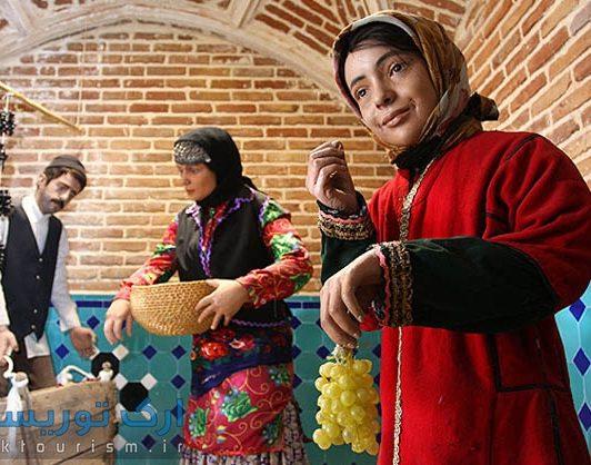 حمام قجر از جاذبه های گردشگری قزوین