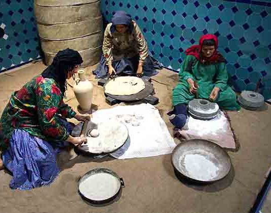 موزه مردم شماسی قجر از جاذبه های گردشگری قزوین