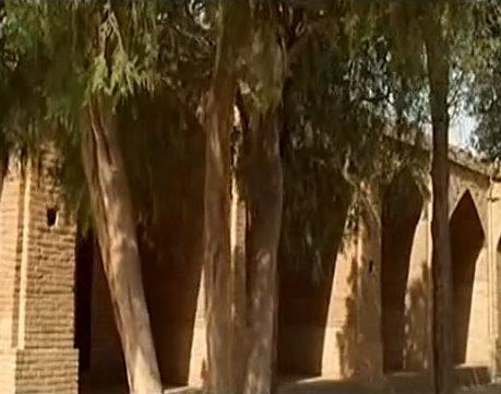 کاروانسرای محمدآباد قزوین از بناهای قدیمی ایران