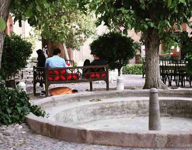 کاروانسرای سعدالسلطنه از جاذبه های گردشگری قزوین