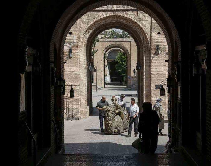 سرای سعدالسلطنه قزوین از بناهای تاریخی قزوین