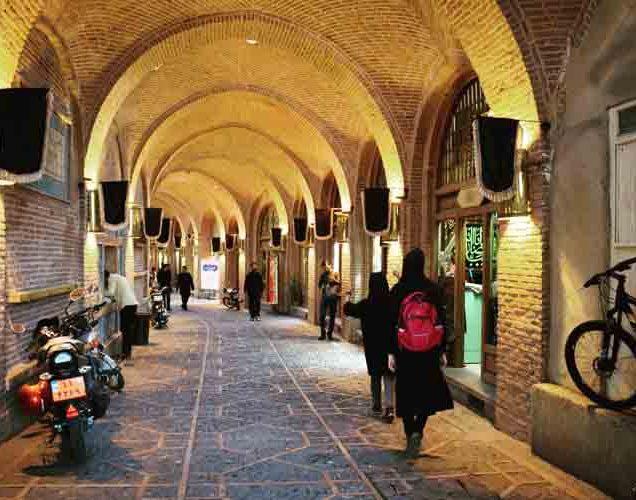 سرای سعدالسلطنه از اماکن تاریخی قزوین